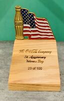 2007 Coca-Cola Veterans Day RARE Challenge Coin VIP Box Set! Numbered to 100!
