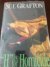 "Sue Grafton, SIGNED FIRST EDITION, ""H Is For Homicide"", Autographed, New"