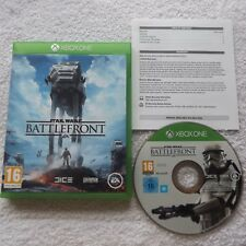 STAR WARS BATTLEFRONT XBOX ONE V.G.C. FAST POST ( action/adventure & shooter )