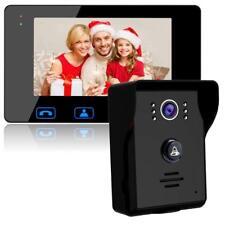 """porta do telefone campainha fios video porteiro monitor 7 """"com visão noturna"""