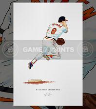 Cal Ripken Jr. Baltimore Orioles Baseball Illustrated Print Poster Art