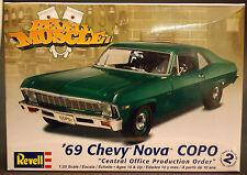 """1969 Chevrolet Nova """"COPO"""", 1:25, Revell USA 4274"""