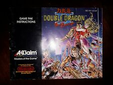 Double Dragon 2 Nes Ebay