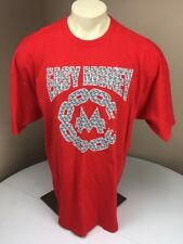 NWT Crooks & Castles X Monopoly Easy Money Bling Spell out Tee T-Shirt Red 2XL