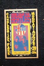 Beatles Tour Poster 1966 Candlestick Park #2 Black