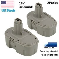 Replacement for Dewalt 18V Battery 18Volt 3.0Ah NI-MH DC9096 DW9095 Power Tools
