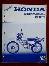 XL125S 1985 XL125S XL 125 S Honda Service Repair Manual 2049
