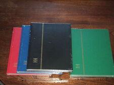 ALBUM NEUF SOUS BLISTER : CLASSEUR A4 de 32 PAGES NOIRES POUR 2000 TIMBRES