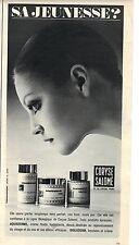 PUBLICITE 1970   CORY SALOME sa jeunesse ?.. aquadermil bioderm