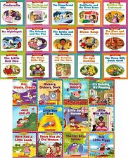 NEW LOT 27 NURSERY RHYME + FAIRY TALE  READERS SCHOLASTIC LEVELED READING BOOKS