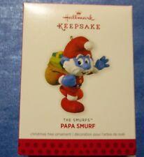 Hallmark The Smurfs Papa Smurf 2013 Ornament
