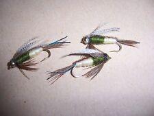 Goldhead MG4 Special mouches taille 12 + Attracteur par Salmoflies Fishing Flies