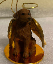 Chesapeake Bay Retriever Chessie Dog Angel Christmas Tree Ornament Tiny Ones Euc
