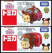 TOMICA Disney Motors TSUM TSUM 7-11 Valentine's Day Mickey & Minnie Mouse TOMY