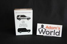 Wiking Mercedes-Benz M-Klasse & G-Klasse 1:87 2 model set (JS)