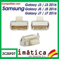 BOTON DE ENCENDIDO VOLUMEN PAR SAMSUNG GALAXY J3 J5 J7 2015 2016 J320 J510 J710