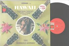 "The Honolulu Guitars – LP Vinyl – ""Hawaii"" Power Apple Honey Series DS 398 VG+/E"