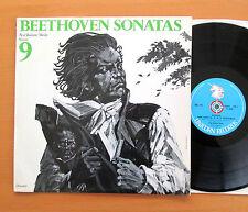 UNS 219 Beethoven Sonatas Vol. 9 Paul Badura-Skoda 1969 Unicorn Stereo NM/EX