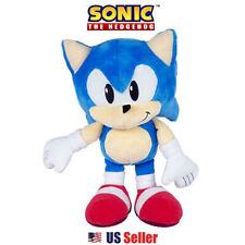 """TOMY Sonic The Hedgehog Collector 12"""" Plush Doll Toy : Dark Chao Knuckles Sonic"""