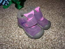KEEN GIRLS 10 TODDLER PURPLE BOOTS