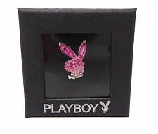 2X PLAYBOY Pink Bunny Ring BNWT Great Gift Boxed