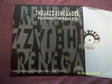 "THE JAZZ RENEGADES-PLAYNG FOR REAL EP 12"" ACID JAZZ"