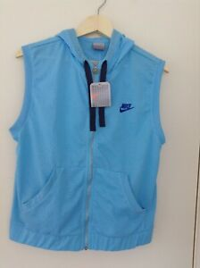 NIKE Sleeveless hoodie top - SIZE 12 - New with tag