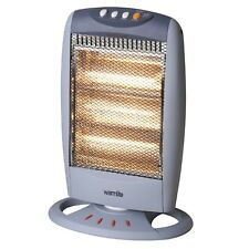 ELECTRIC Heater With Three Bar Halogen Elements And Oscillation Function, 1200w