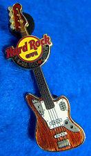 NIAGARA FALLS CANADA RED WOOD FENDER BASS GUITAR SERIES 2010 Hard Rock Cafe PIN