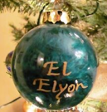 Heavenly 6 Bible God Names and English meaning Ornaments Christmas Boxed Unused