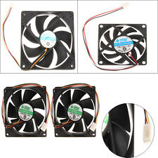 120mm 70mm 80mmx25mm 120x25mm 12V 3Pin DC Brushless PC Computer Case Cooling Fan