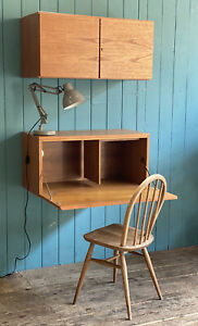 Tapley 33 Mid Century Teak Floating Wall CUPBOARD Modular System DELIVERY* 🚚