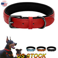 Soft Faux Suede Dog collar Leather Adjustable Collars Small/Big Dog Pet Necklace