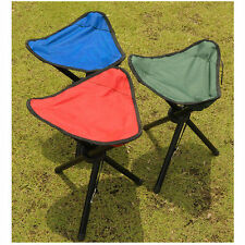 Portable Folding Three-legged Stool Chair Seat for Outdoor Camping Hiking Picnic