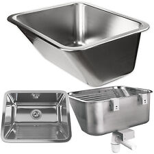 Stainless steel Draining sink Cellar Garden economic area sink wash basin sink