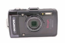 Olympus Tough TG-2 iHS 12.0MP Digital Camera - Black
