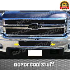 For Chevy Silverado 2500/3500 2011-2014 Black Bumper Billet Grille Grill Insert