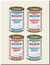 Banksy artiste de rue Tesco Valeur la soupe aux tomates 2 imprimer A4 A3 A2 A1