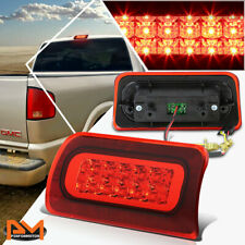 For 94-03 Chevy S10/GMC Sonoma 2-Rows LED Third 3RD Tail Brake Light/Lamp Red