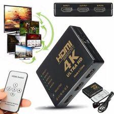 5 Port HDMI Umschalter Switch Splitter Verteiler 5 In 1 Out Full-HD 1080p 4K GD9