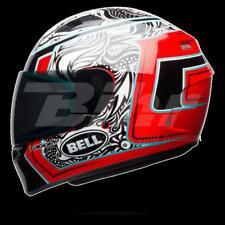 Casco Bell qualifier Tagger Blanco/negro/rojo talla m