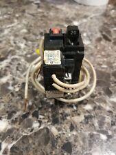20 Amp PUSHMATIC GFCI Siemens GOULD ITE GFI Single Pole BREAKER P120GF