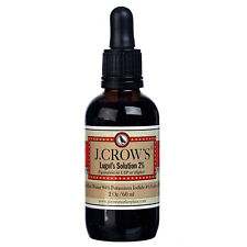 J.CROW'S Lugol's Solution of Iodine 2%, 2 Ounce