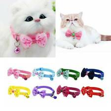 Pet Bowknot Necktie With Bell Adjustable Collar Dog Cat Puppy Kitten Bow Tie HOT