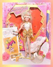 ❤️VTG JEM & the Holograms Glitter 'n Gold Jerrica Doll BOX Cassette COMPLETE❤️
