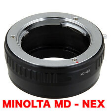 MD - NEX  Minolta MD Objektiv Lens Adapter an -To Sony NEX Kamera E-Mount