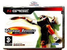 Virtua Tennis Nokia Ngage PALEUR Nuevo Sealed Precintado Brand New Retro