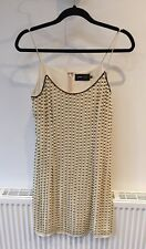 TFNC Pearl Embelished Dress Size Small