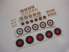 Dinky - Aircraft  Roundels & Chevrons - Water Slides - B2G1F