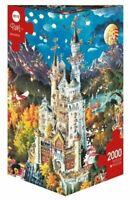 Heye Puzzles - Triangular , 2000 piece jigsaw puzzle  - Bavaria, Ryba  HY29700
